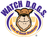 Watch D.O.G.S. (Dads of Great Students) Pizza and Information Night Tuesday Oct. 2, 5:30-7:00