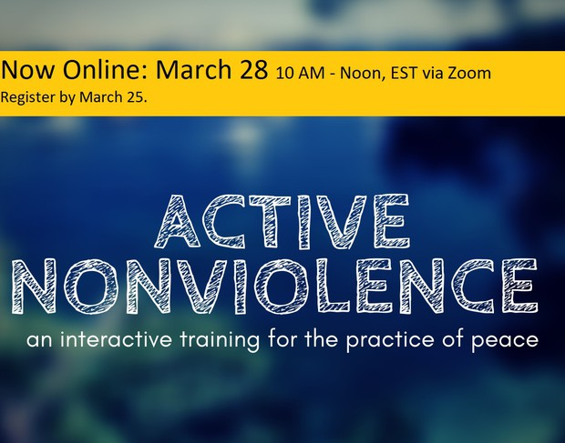 Active Nonviolence graphic