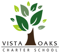 Vista Oaks Logo with Oak Tree