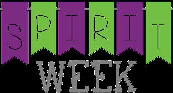 April 12th - 16th - Spirit Week