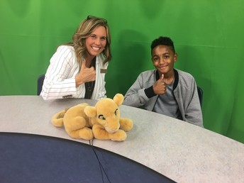 Cubs Broadcast Studio