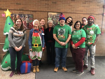 A big Thank You to all of our Holiday Gift Shop Volunteers!