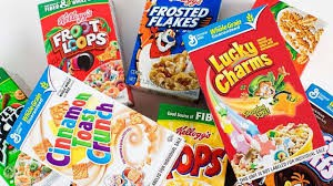 Cereal Boxes Wanted
