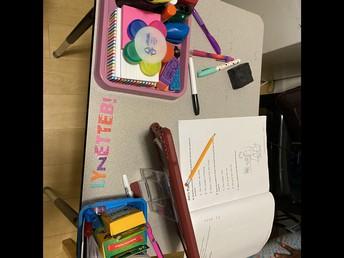 Lynette's Desk