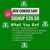 Half-off starting a biz or wholesale account!