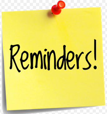 Reminder From Our Bookkeeper
