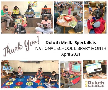Thank You, Duluth Media Specialists!