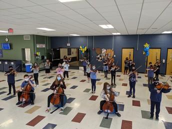 5th grade Gold Orchestra 2