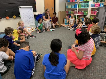 Mrs. Lauer's Class Does Their Morning Meeting
