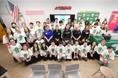 WMS STEM Club, Jet Blue, and Boston Celtics