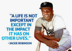 Jackie Robinson Day - Celebrating the Life and Legacy - January 31
