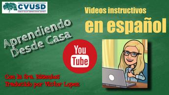 Aprendiendo desde casa en YouTube