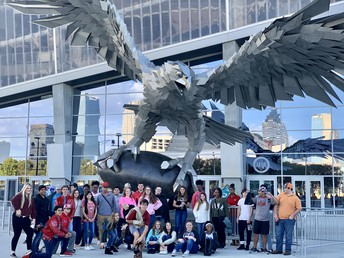 CCHS Students Visit the Benz  . . . . . for a Science Lesson!