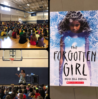 Author Visit- India Hill Brown