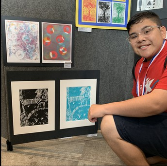 David Lopez - UIL Art Competition - First Place
