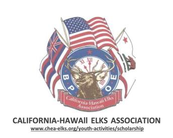 CA-HI Elks Association Vocational Education ScholarshipCA-HI Elks Association Vocational Education Scholarship