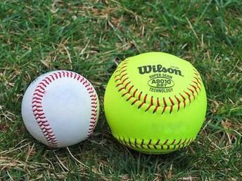 Baseball and Softball Schedule