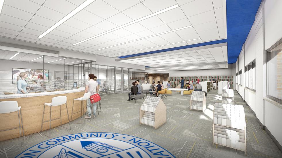 THS Media Center Rendering
