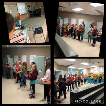 Boomwhackers in Music class