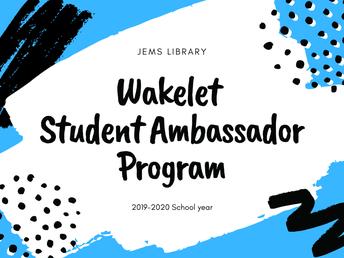 Wakelet Student Ambassadors