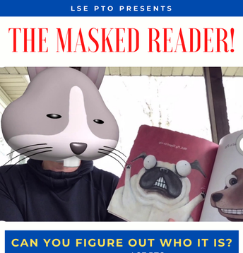 The MASKED READER!