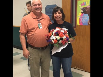Teacher of the Month -Donna Sanders