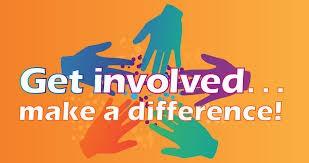 Stay involved!
