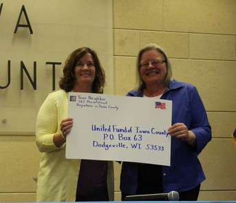 Thank You United Fund of Iowa County