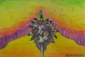 Raine Rittscher's Talismen (colored pencil drawing)