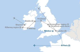 Ireland, France, and England Trip