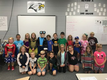 Mrs. Reichard's Class: Famous Person Dress Up Day