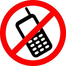 No Cellphone Use in the Pick up and Drop Off Lane!