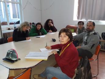 Meeting of the coordinators