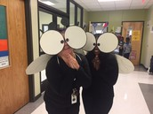 Our Reading and Math Specialists as Fly Guy