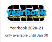2020-2021 Yearbooks