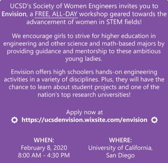 Evision 2020 Female STEM Conference