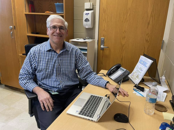 FHS Honors Jim Phillips During School Social Worker Week