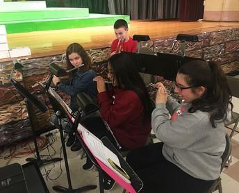 Band for Shrek Musical