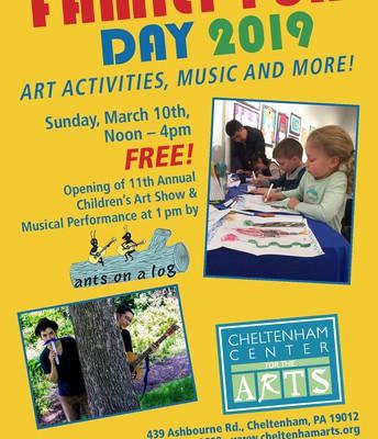 Family Fun Day @ Cheltenham Center for the Arts