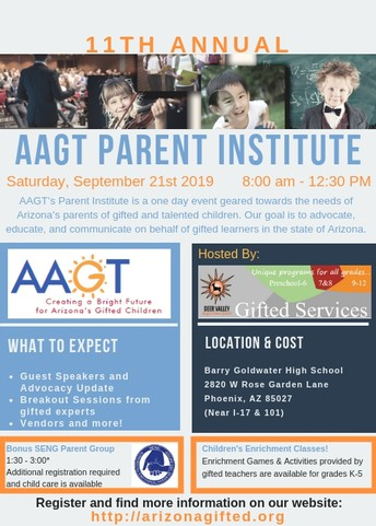 State Gifted Parent Institute