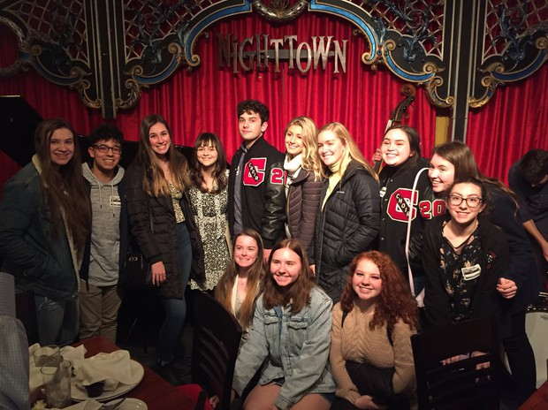 Chardon High School students on Jan. 24 field trip:  CLE STAYCATION