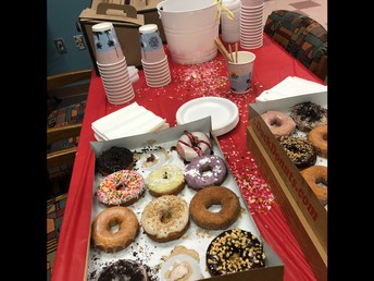 Donuts and Coffee for our Staff and Teachers