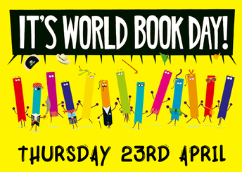 World Book Day - Thursday 23rd April 2020 - Reminders - by Mr Michael Norris