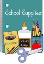School Supply List for 2021-2022