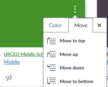STEP 2: Move Your Courses