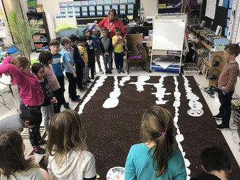 Exploring what impacted the length of our snowmen, collaboration and thinking in Gr. 1