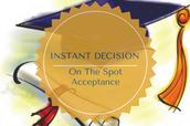 INSTANT DECISION DAY SUCCESS