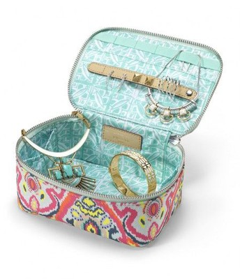 Travel Jewelry Box - Multi Ikat
