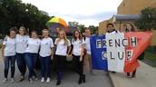 French Club at the Homecoming Parade