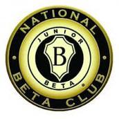 JR. BETA CLUB UPDATES: